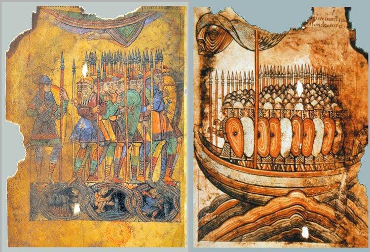 Did the Vikings wear helmets? Vikings in Guerande