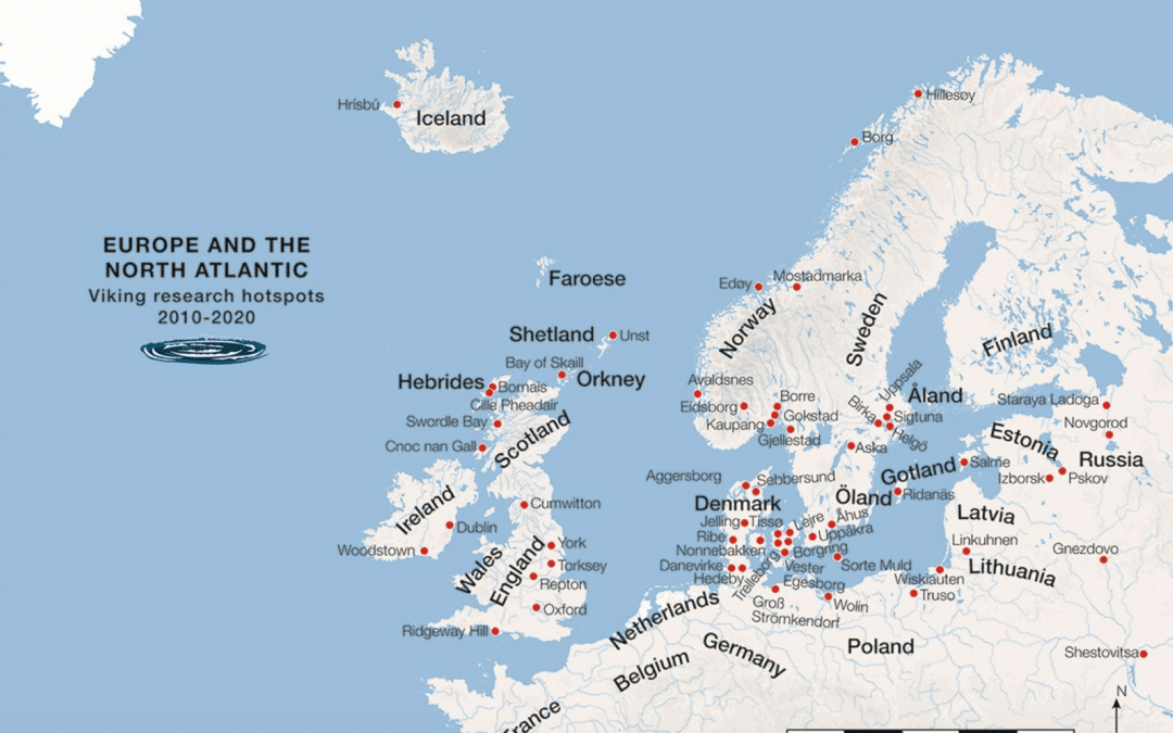 """Curious About the Current State of Viking Age Research? A New Paper from Denmark Overviews Viking Research """"Hot Spots"""""""